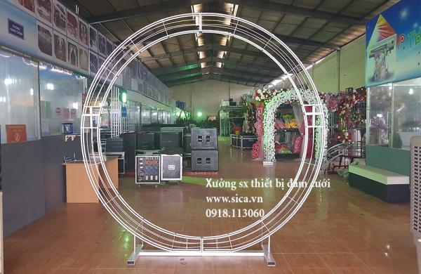 Cho thuê khung cổng cưới kiểu tròn