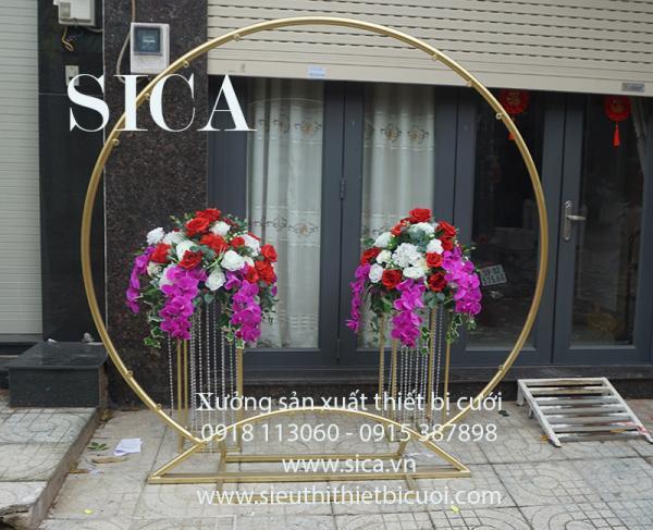 Cho thuê khung cổng cưới tròn O