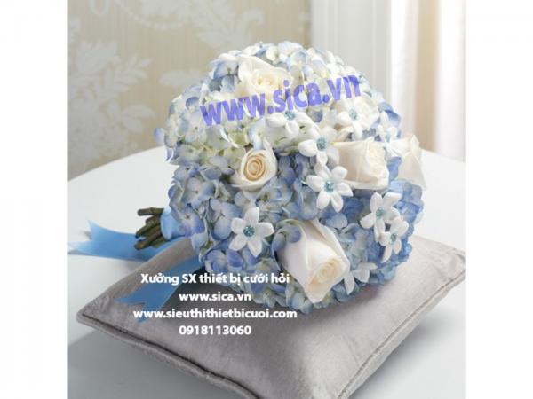 Bó hoa cô dâu hạnh phúc