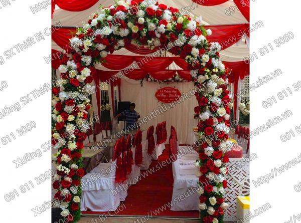 Cổng cưới giá rẻ tại HCM