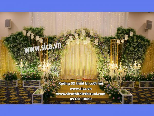 Phông chụp hình cho đám cưới nhà hàng đẹp