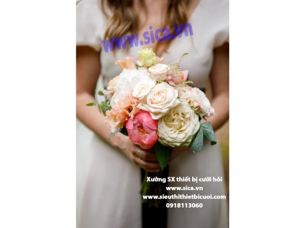 Bó hoa đẹp cầm tay cho cô dâu