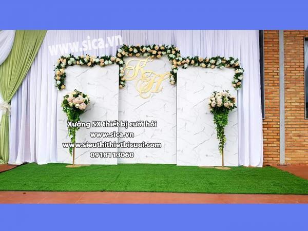 Backdground chụp hình cưới mới