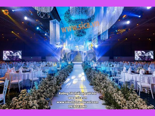 Sản xuất sân khấu trang trí cưới