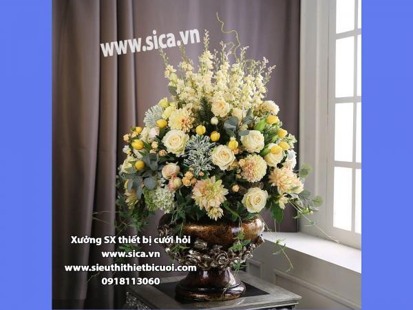 Binh hoa để bàn đẹp mới nhất