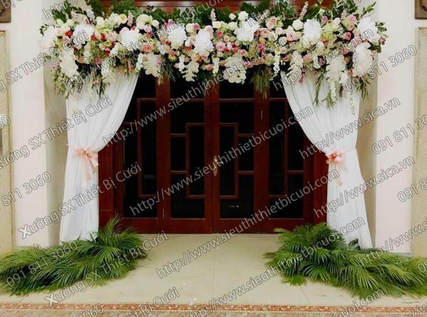 Cổng hoa cưới mới nhất