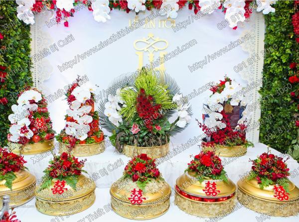 Mâm quả đẹp cho lễ cưới