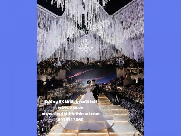 Chuyên thiết kế nhà hàng tiệc cưới sang trọng
