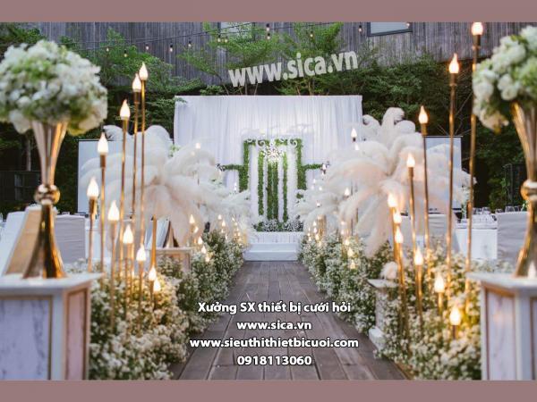 Chuyên thiết kế sân khấu cho nhà hàng tiệc cưới
