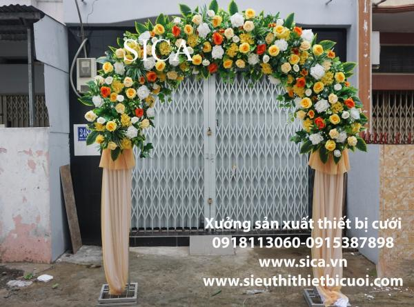 Mua cổng cưới hoa giả đẹp rẻ