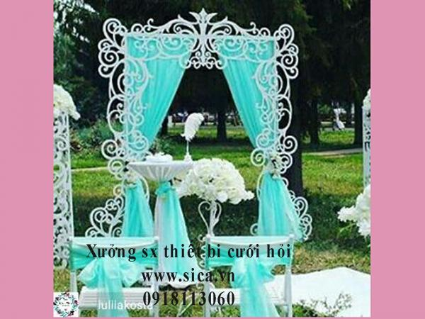 Nơi bán cổng hoa đám cưới CNC