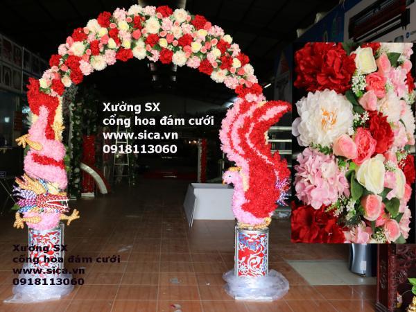Cung cấp mua ban cổng hoa rồng phụng các loại