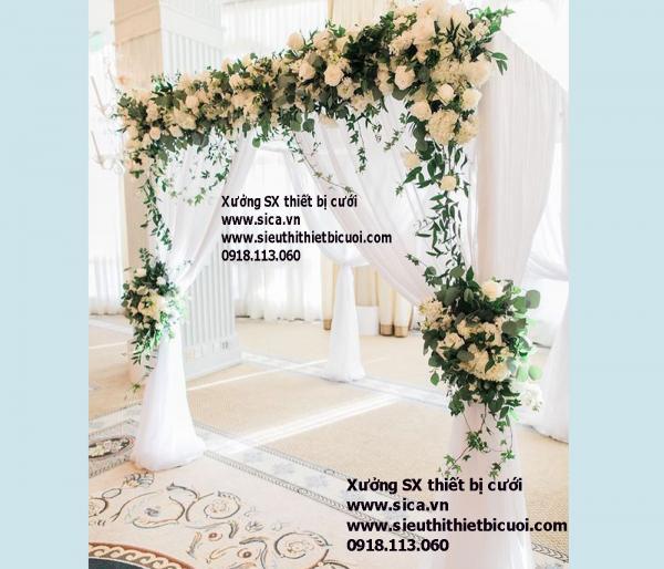 Mua bán cổng hoa đám cưới mẫu mới