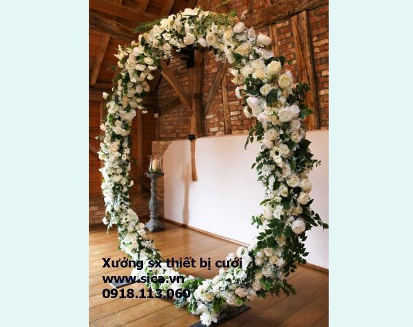 Cổng cưới tròn chữ O giá rẻ
