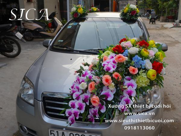 Trang trí xe hoa rước dâu