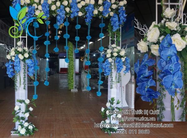 Cổng hoa Lan xanh