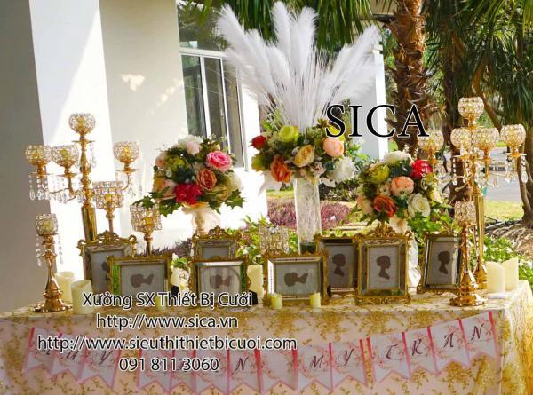 Bàn gallery cho lể cưới