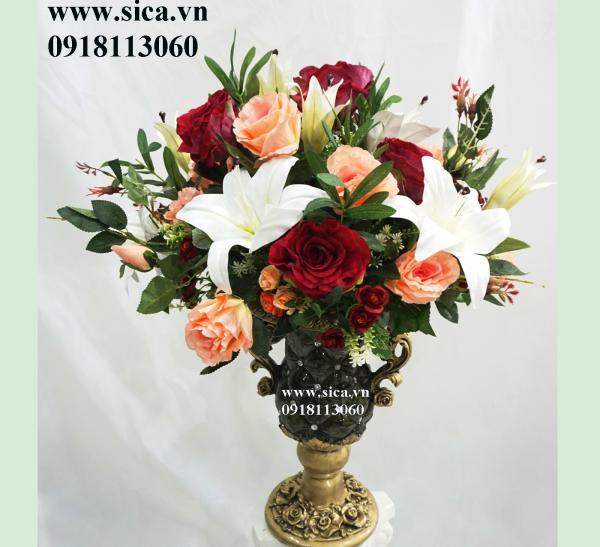 Bình hoa để bàn cao cấp