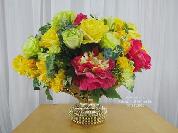 Binh hoa đẹp trang trí