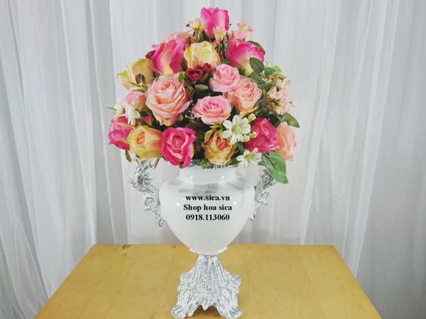 Bình hoa composite cổ điển