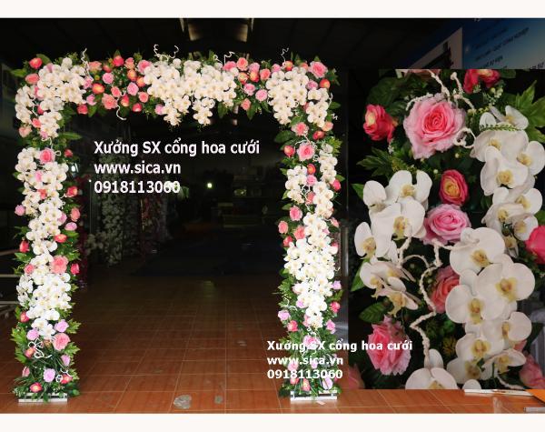 Cổng cưới hoa lan hồ điệp cao cấp nhất