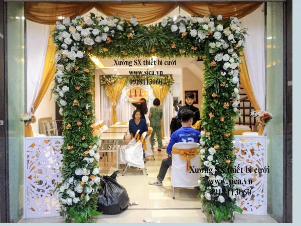 Cổng cưới mới đẹp. cao cấp giá rẻ