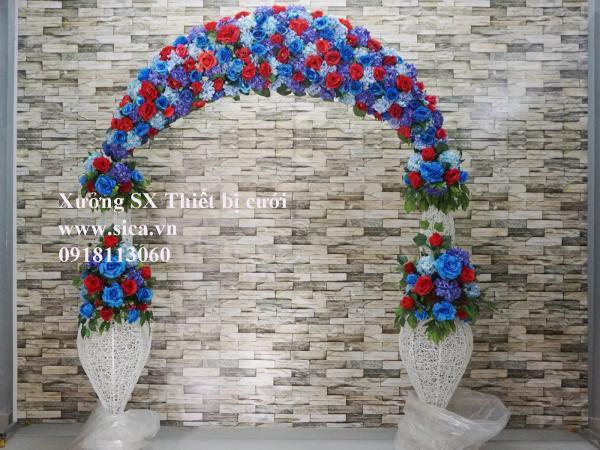 Cung cấp, bán cổng hoa đám cưới mới đẹp