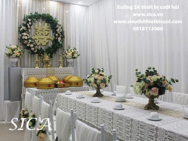 Cung cấp bán bàn thờ hai họ đám cưới