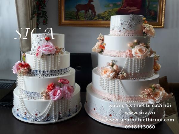 Cấn bán bánh kem giả trang trí nhà hàng tiệc cưới