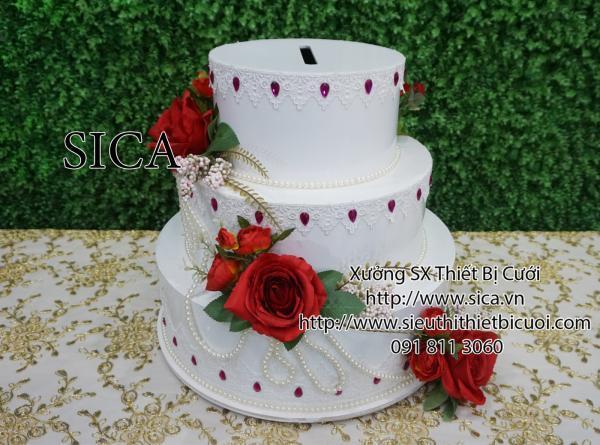 Giá bán bánh kem giả trang trí nhà hàng tiệc cưới