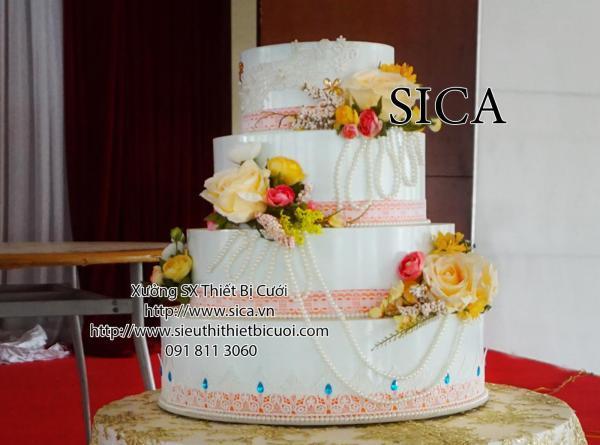 Bán bánh giả cưới giả trang trí đám cưới