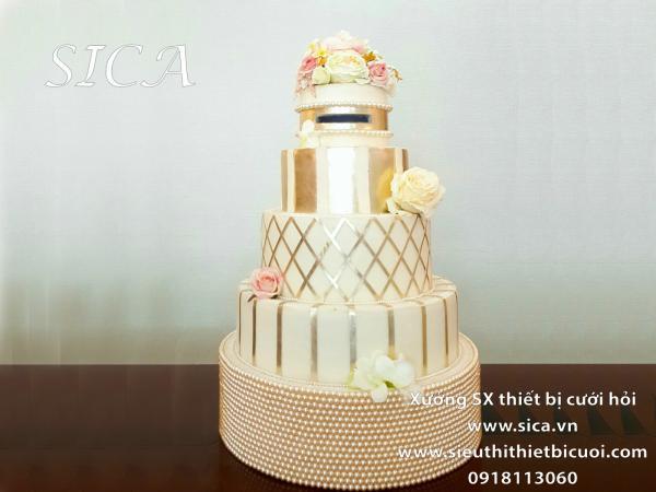 Giá bán bánh kem giả đám cưới