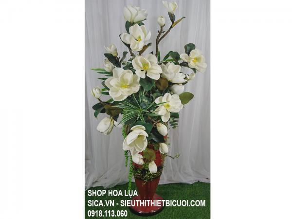 BÌnh hoa Ngọc Lan trắng, hoa đại sảnh