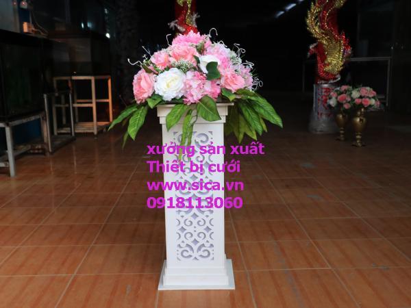 Sản xuất, cung cấp chân hoa lối đi trang trí đám cưới