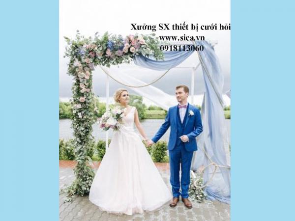 Giá bán cổng hoa đám cưới mới đẹp