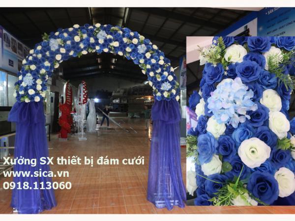 Cổng hoa chân voan hoa Việt Nam