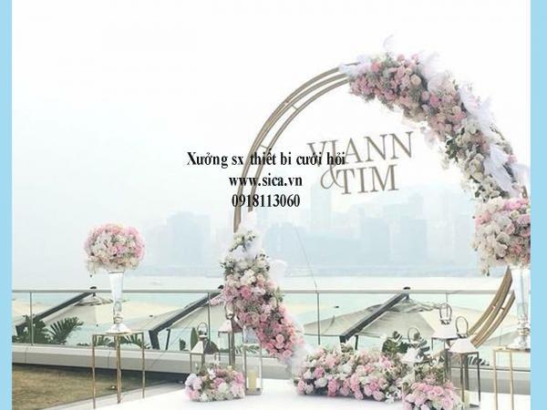 Chổ bán cổng hoa cưới mới đẹp