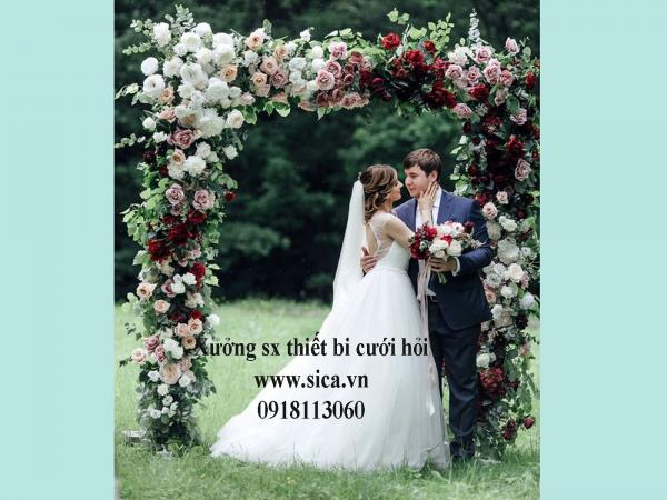 Nơi cung cấp cổng hoa đám cưới TPHCM