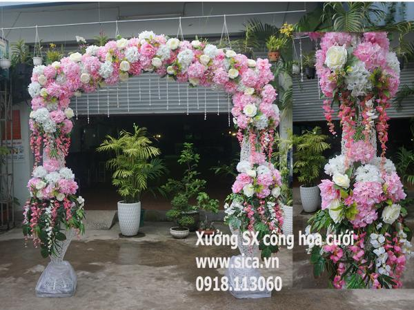 Cung cấp, sản xuất cổng hoa cưới mới nhất,