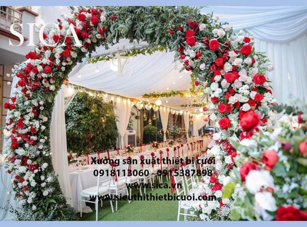 Xưởng bán cổng hoa cưới mới nhất 2019 2020