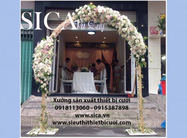Bán khung cổng hoa giá rẻ mới đẹp