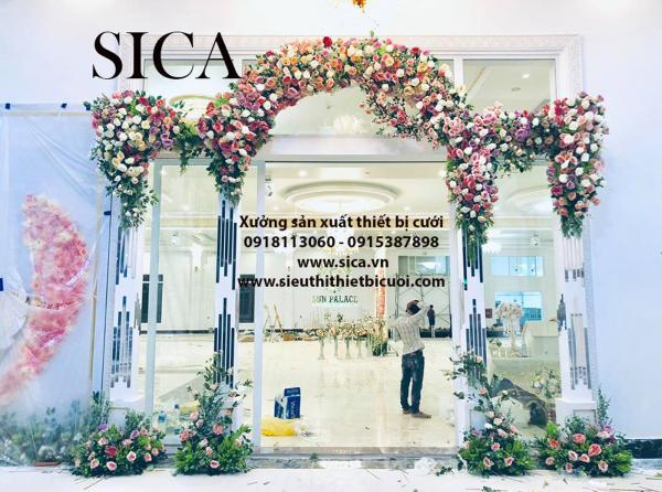 Điểm giao dịch bán cổng hoa cưới mới đẹp