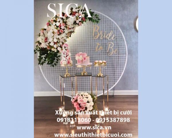 Giá bán cổng cưới mới đẹp