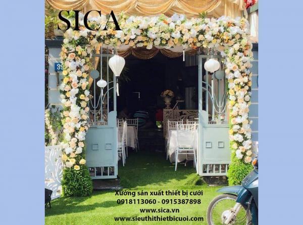 Xưởng bán cổng rạp hoa cưới mới nhất