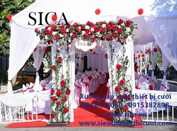 Nơi bán cổng hoa đám cưới giá sĩ TPHCM