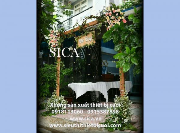 Chỗ bán cổng hoa cưới mới đẹp nhất TPHCM