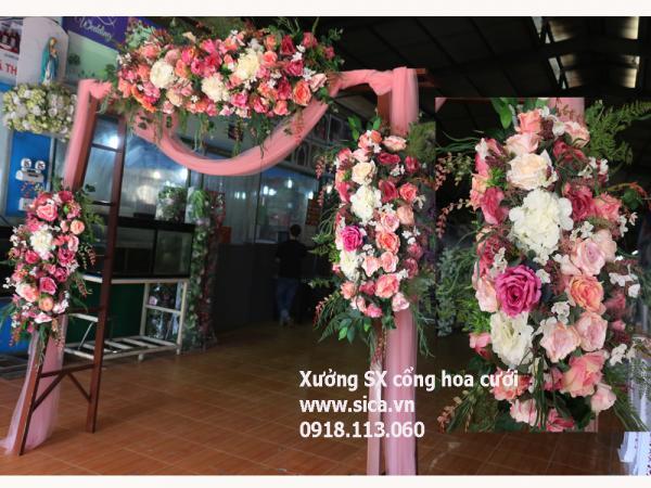 Cổng hoa đám cưới mới lạ nhất