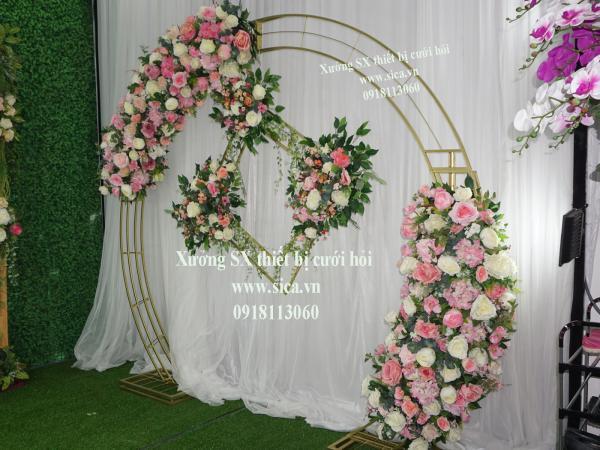 Nơi sản xuất mua bán cổng hoa đám cưới
