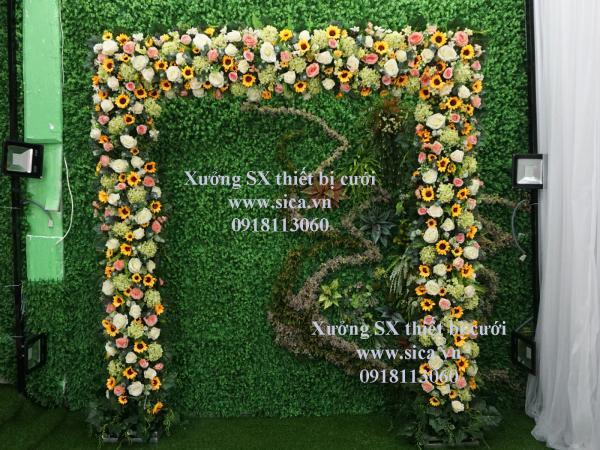 Bán cổng hoa cưới hoa hướng dướng