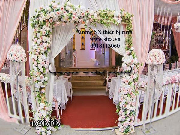 Bán cổng hoa đám cưới mới đẹp